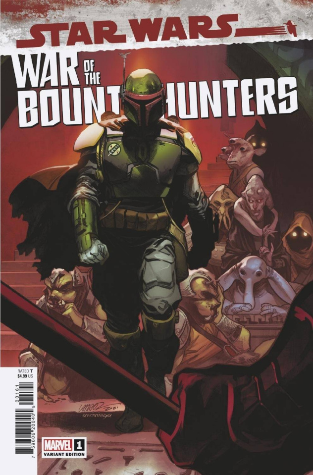 Star Wars: War of the Bounty Hunters #1 (Larraz Cover)