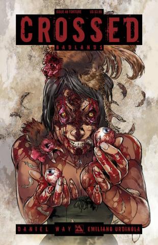 Crossed: Badlands #48 (Torture Cover)