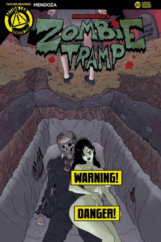 Zombie Tramp #20 (TMChu Risque Cover)