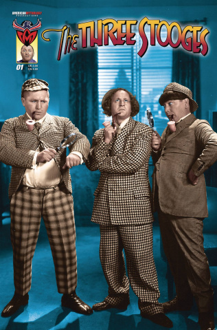 The Three Stooges: The Boys Are Back #1 (Photo Cover)