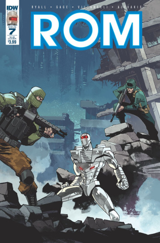 ROM #7 (Subscription Cover)