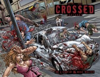 Crossed: Badlands #81 (Wrap Cover)