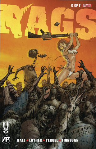 Rags #6 (Richard Case Queen of Hill Cover)