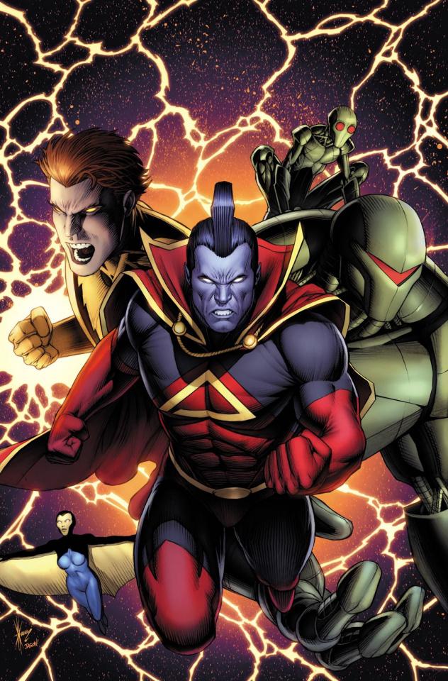 X-23 #8 (Keown GotG Cover)