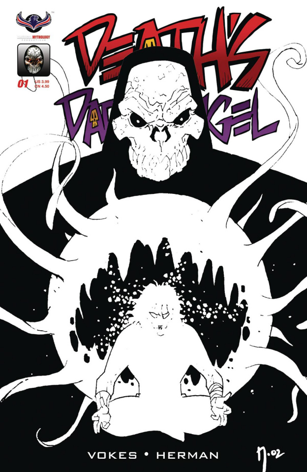 Death's Dark Angel (B&W Indie 2 Copy Cover)