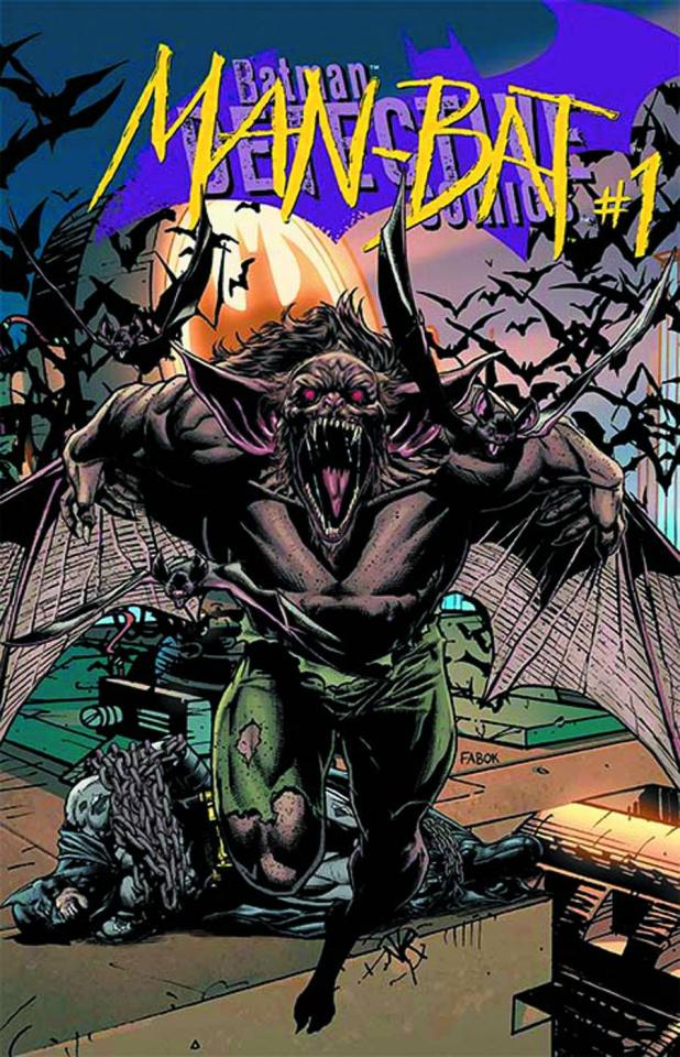Detective Comics #23.4: Man Bat Standard Edition