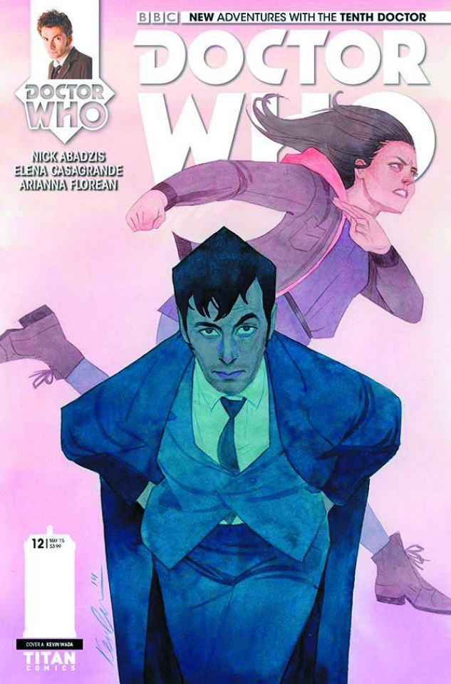 Doctor Who: New Adventures with the Tenth Doctor #12 (Wada Cover)