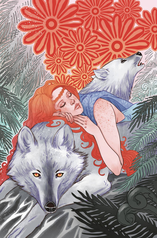Crimson Flower #3 (Sauvage Cover)