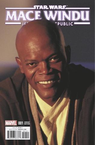 Star Wars: Mace Windu, Jedi of the Republic #1 (Movie Cover)