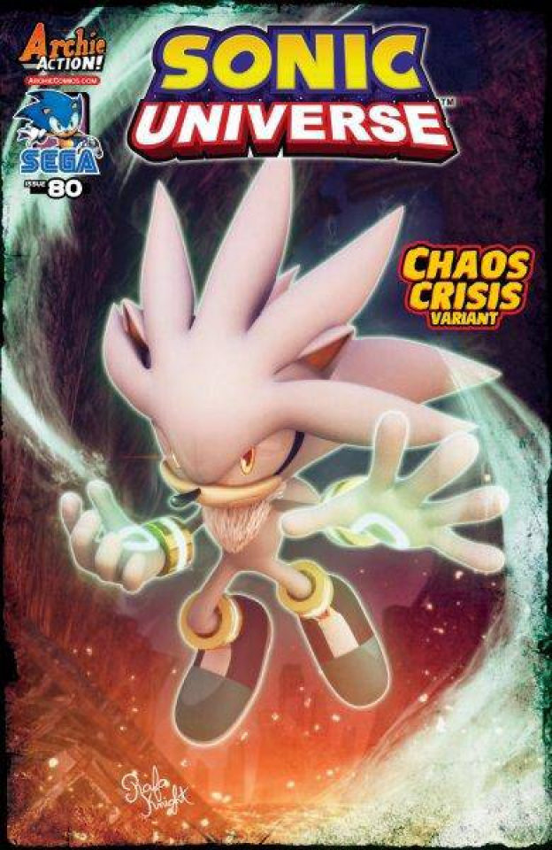 Sonic Universe #80 (Knight Cover)