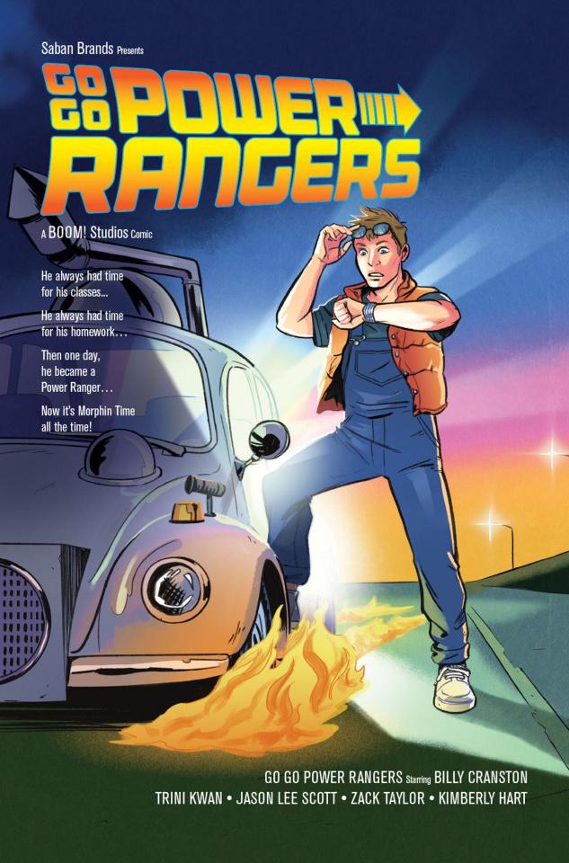 Go, Go, Power Rangers! #4 (25 Copy Bustos Cover)