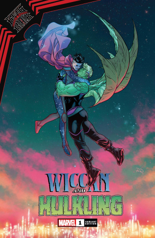 King in Black: Wiccan and Hulkling #1 (Dauterman Cover)