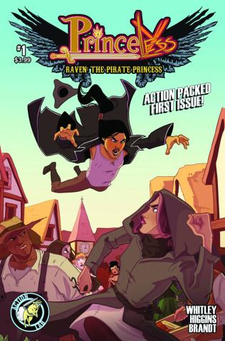 Princeless: Raven, The Pirate Princess #1
