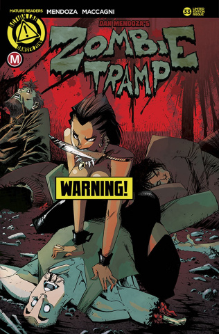 Zombie Tramp #33 (Fresh Kill Risque Cover)