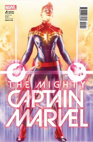 The Mighty Captain Marvel #1 (Ross Cover)