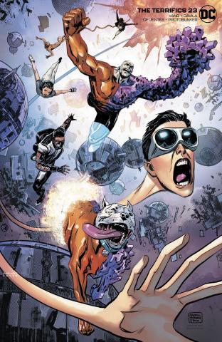 The Terrifics #23 (Variant Cover)