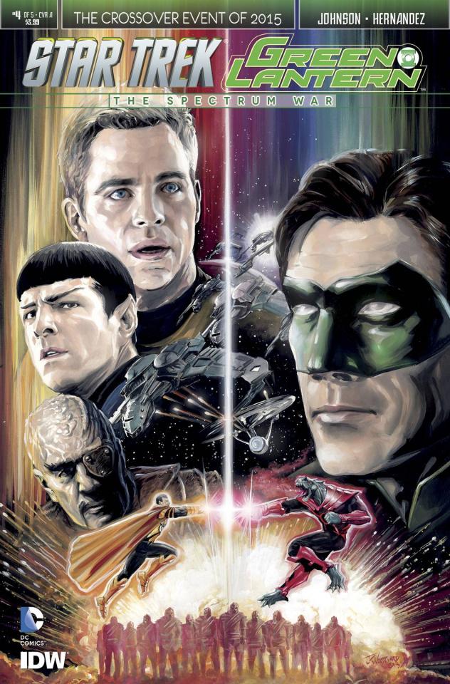 Star Trek / Green Lantern #4 (Woodward Cover)