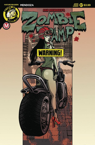 Zombie Tramp #37 (Rodriguez Risque Cover)