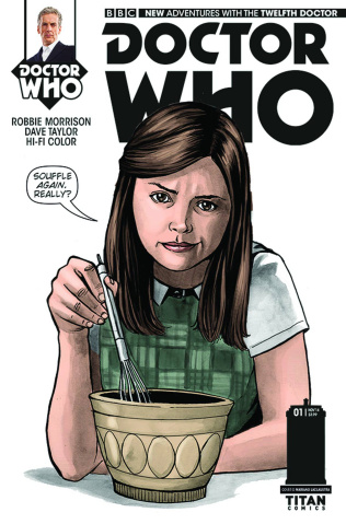 Doctor Who: New Adventures with the Twelfth Doctor #1 (10 Copy Laclaustra Cover)