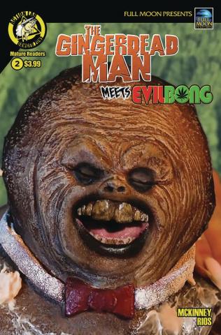 The Gingerdead Man Meets Evil Bong #2 (Photo Cover)