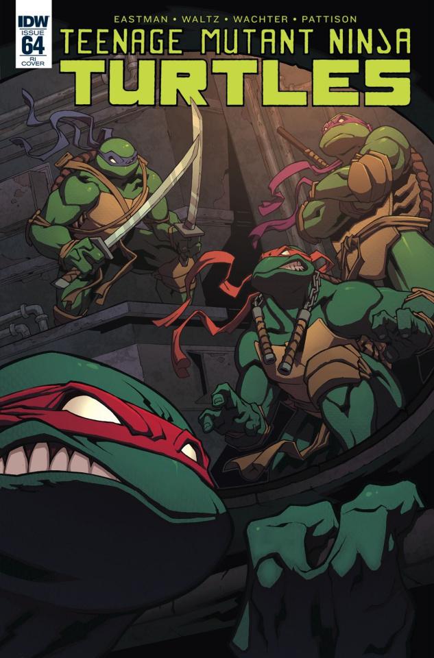 Teenage Mutant Ninja Turtles #64 (10 Copy Cover)