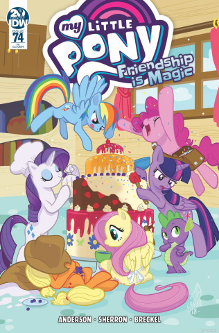 My Little Pony: Friendship Is Magic #74 (10 Copy Souvanny Cover)