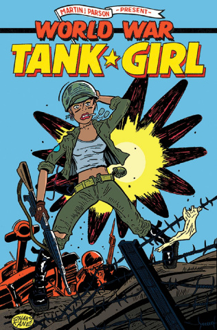 Tank Girl: World War Tank Girl #1 (Kane Cover)