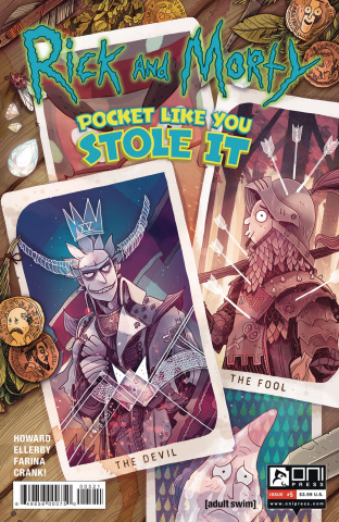 Rick and Morty: Pocket Like You Stole It #5 (Costa Cover)