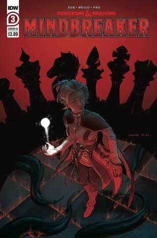 Dungeons & Dragons: Mindbreaker #3 (Davenport Cover)