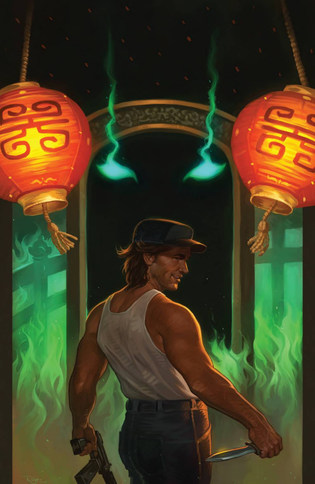 Big Trouble in Little China #12 (20 Copy Robles Cover)