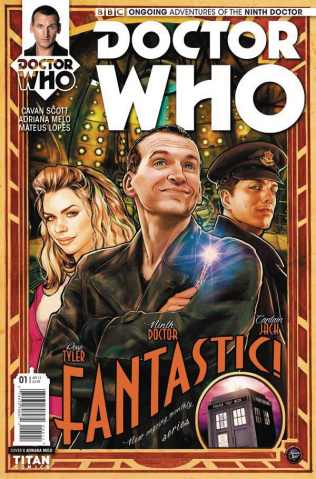 Doctor Who: New Adventures with the Ninth Doctor #1 (Melo Cover)