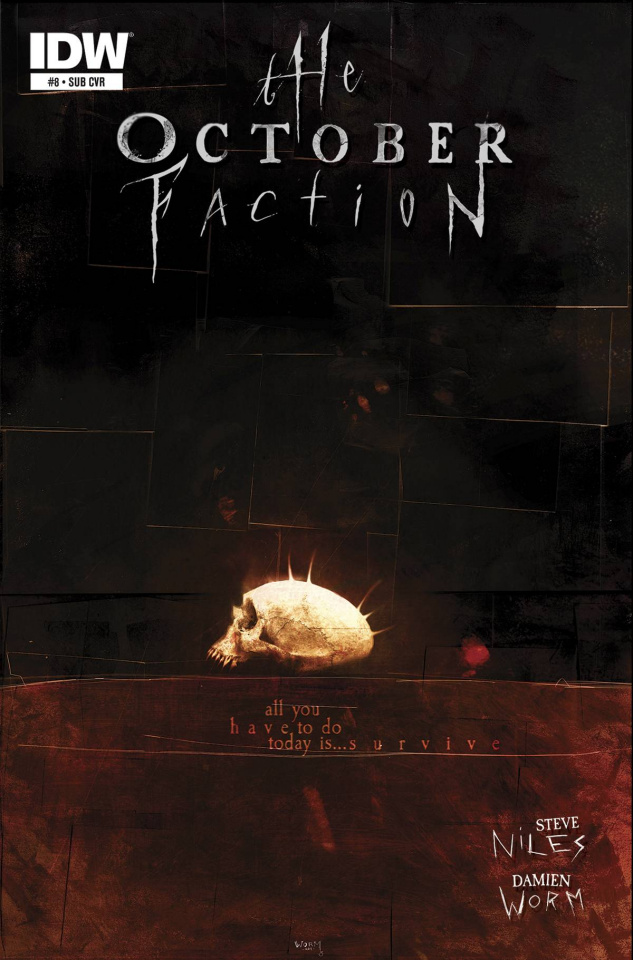 The October Faction #8 (Subscription Cover)