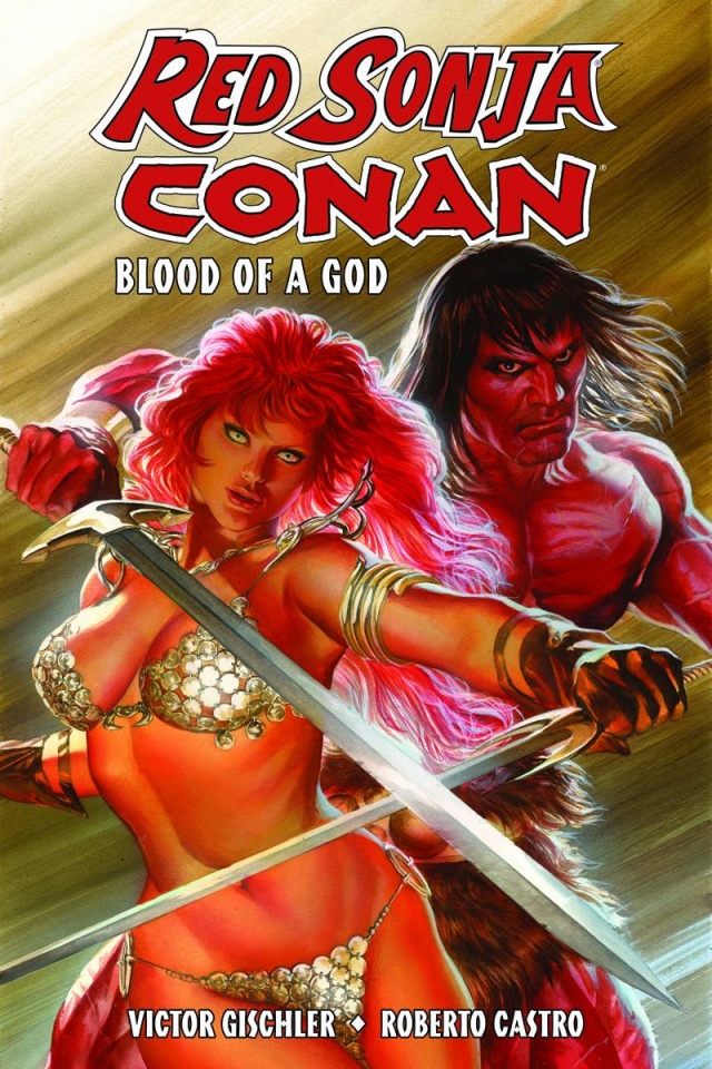 Red Sonja / Conan: Blood of a God
