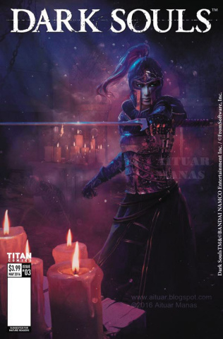 Dark Souls #3 (Manas Cover)