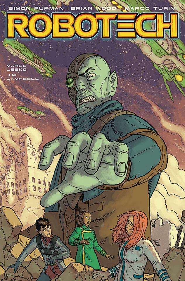 Robotech #8 (Roy Cover)