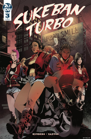 Sukeban Turbo #3 (10 Copy Roe Cover)