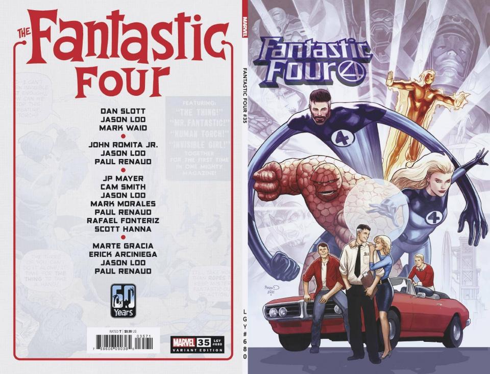 Fantastic Four #35 (Renaud Cover)