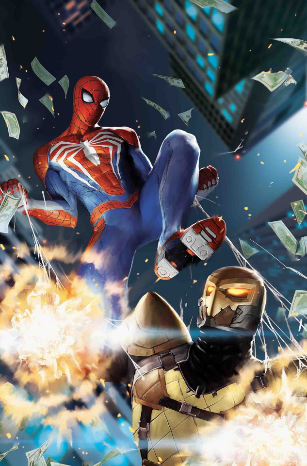 Spider-Man: City At War #3 (Gang Hyuk Lim Cover)