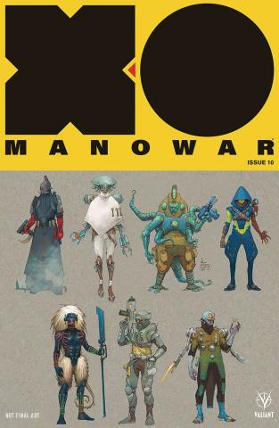 X-O Manowar #10 (20 Copy Rocafort Cover)