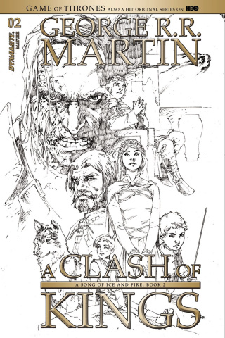 A Game of Thrones: A Clash of Kings #2 (15 Copy Cover)