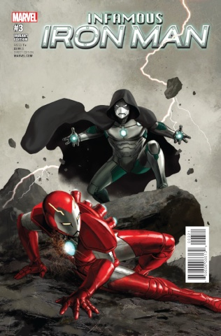 Infamous Iron Man #3 (Epting Cover)