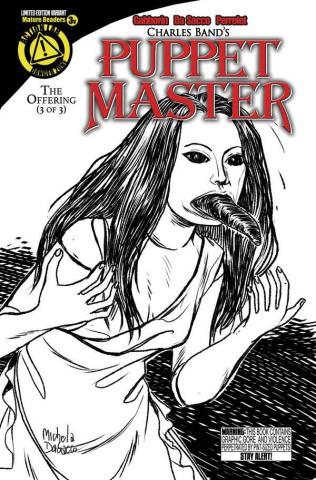 Puppet Master #3 (Leech Woman Sketch Cover)