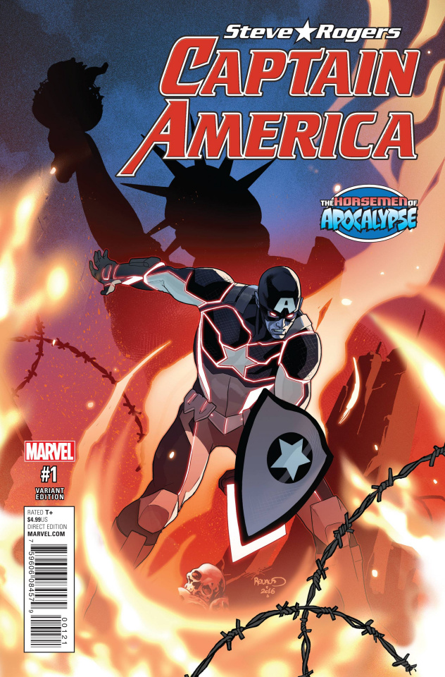 Captain America: Steve Rogers #1 (AoA Cover)