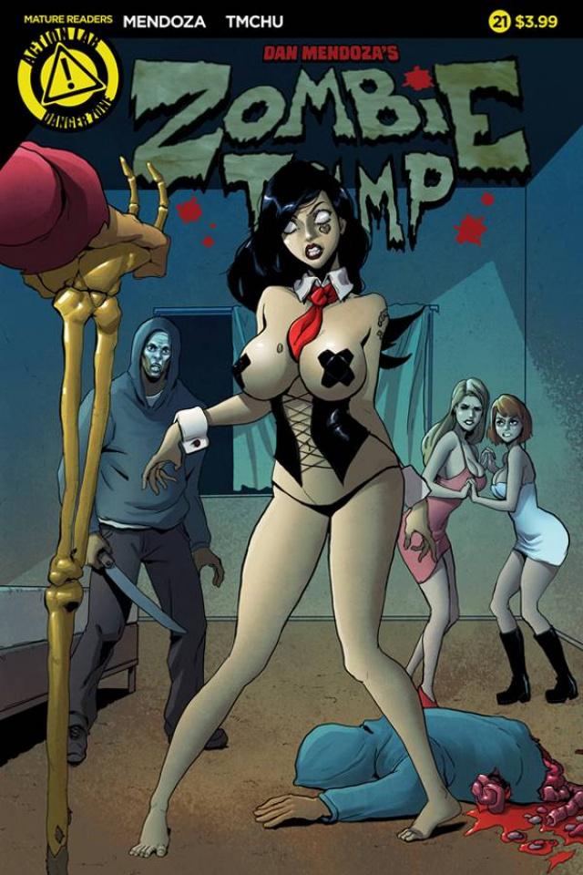 Zombie Tramp #21 (TMChu Cover)