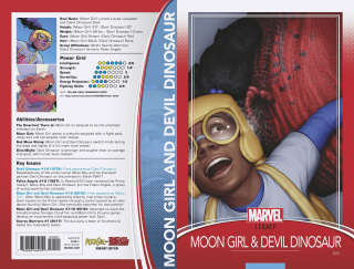 Moon Girl and Devil Dinosaur #25 (Trading Card Cover)