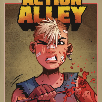 Tank Girl: Action Alley #2 (Parson Cover)