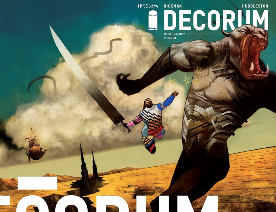 Decorum #3 (Huddleston Cover)