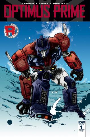 Optimus Prime #1 (50 Copy Cover)