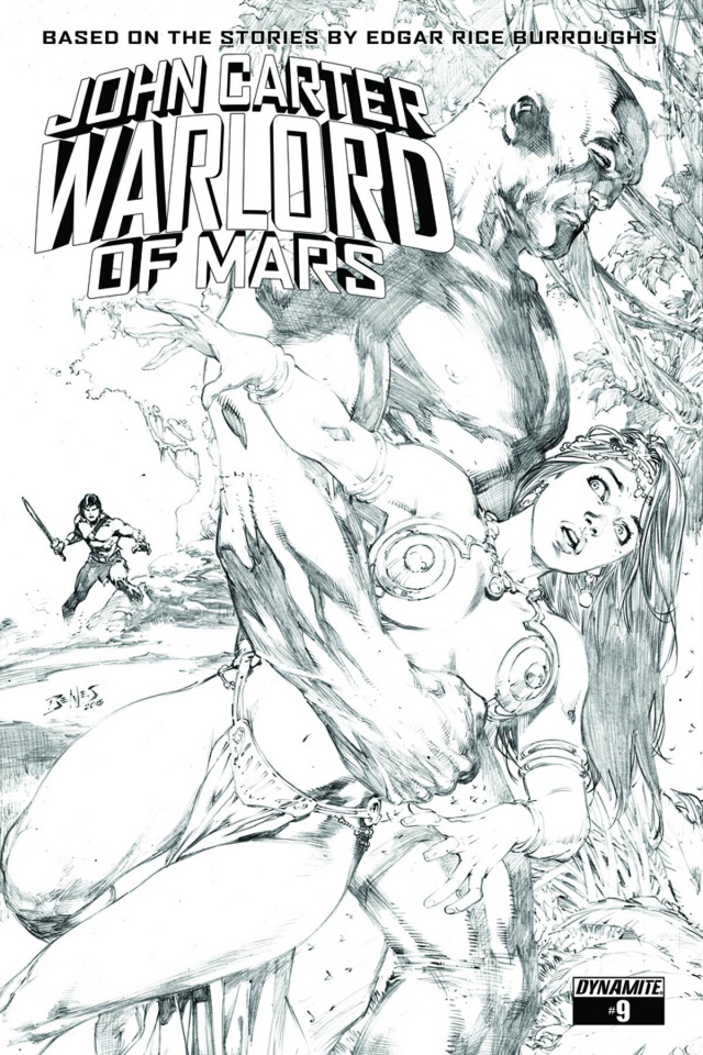 John Carter: Warlord of Mars #9 (20 Copy Benes Cover)