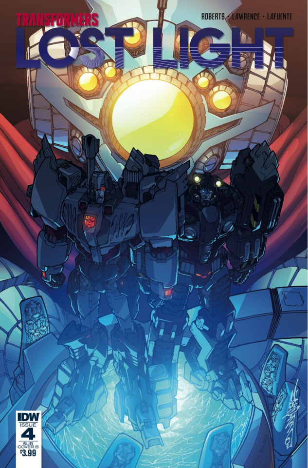 The Transformers: Lost Light #4 (Subscription Cover)